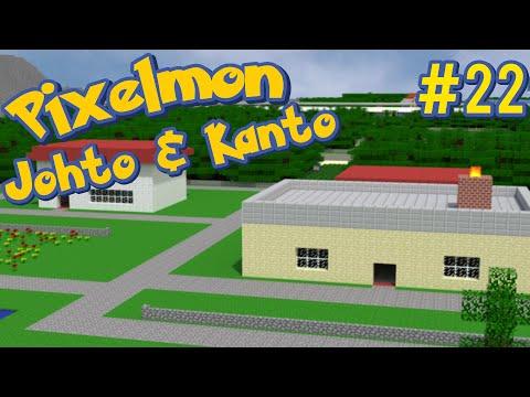 The Kanto Region - Pixelmon Johto and Kanto Minecraft Map Ep. 22