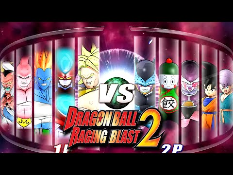 Dragon Ball Z Raging Blast 2 - Giants Vs. Midgets! (What If Battle)
