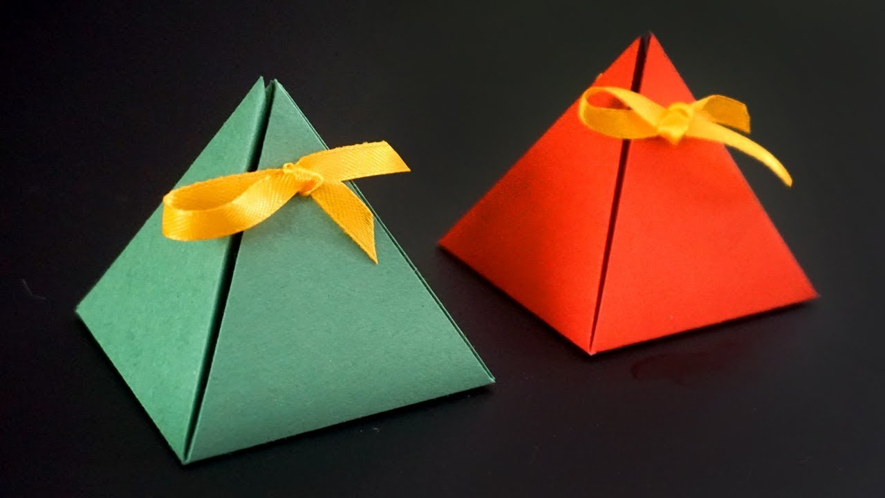 5 Gift Box Ideas That You Can Make With Just A A4 Paper