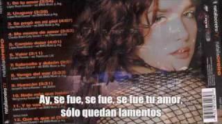 Download Natalia Oreiro - De tu amor  - Subtitulada MP3 song and Music Video