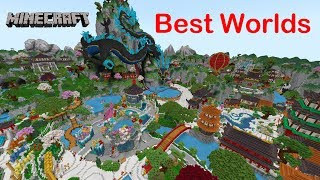 Top 10 Best Minecraft Store Worlds in Bedrock
