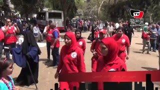 استعدادات «الهلال الأحمر» بحديقة الحيوان لاستقبال احتفالات «شم النسيم»