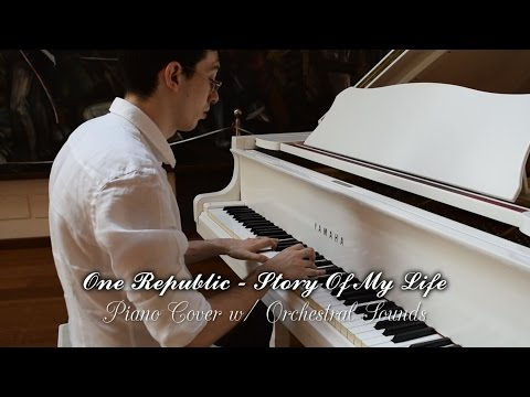 One Direction - Story of my Life: Piano Cover with Orchestral Sounds!