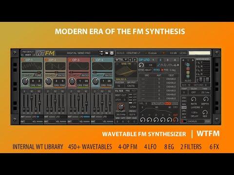 WTFM Wavetable FM Synthesizer (RackExtension for Reason)