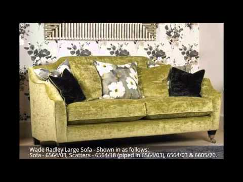Wade Radley Sofa Collection from £849.30. Visit our Marple furniture showroom