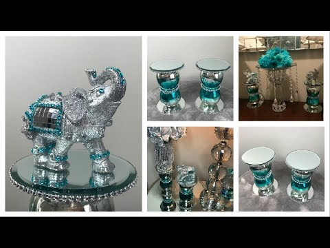 DOLLAR TREE DIY BLING ELEPHANT | DISPLAY STAND/CANDLE HOLDER 2019