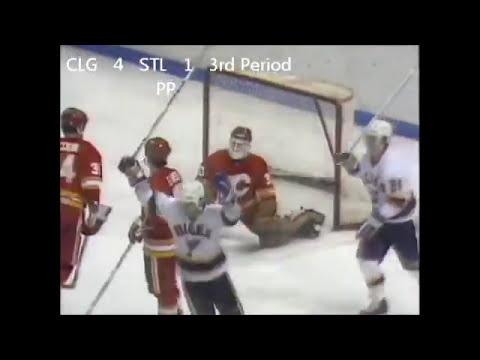 "1986 Blues vs Flames ""Monday Night Miracle"" highlights"