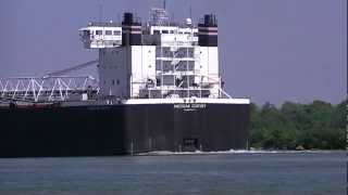 American Century, Great Lakes Freighter near Neebish Island, Michigan 2011