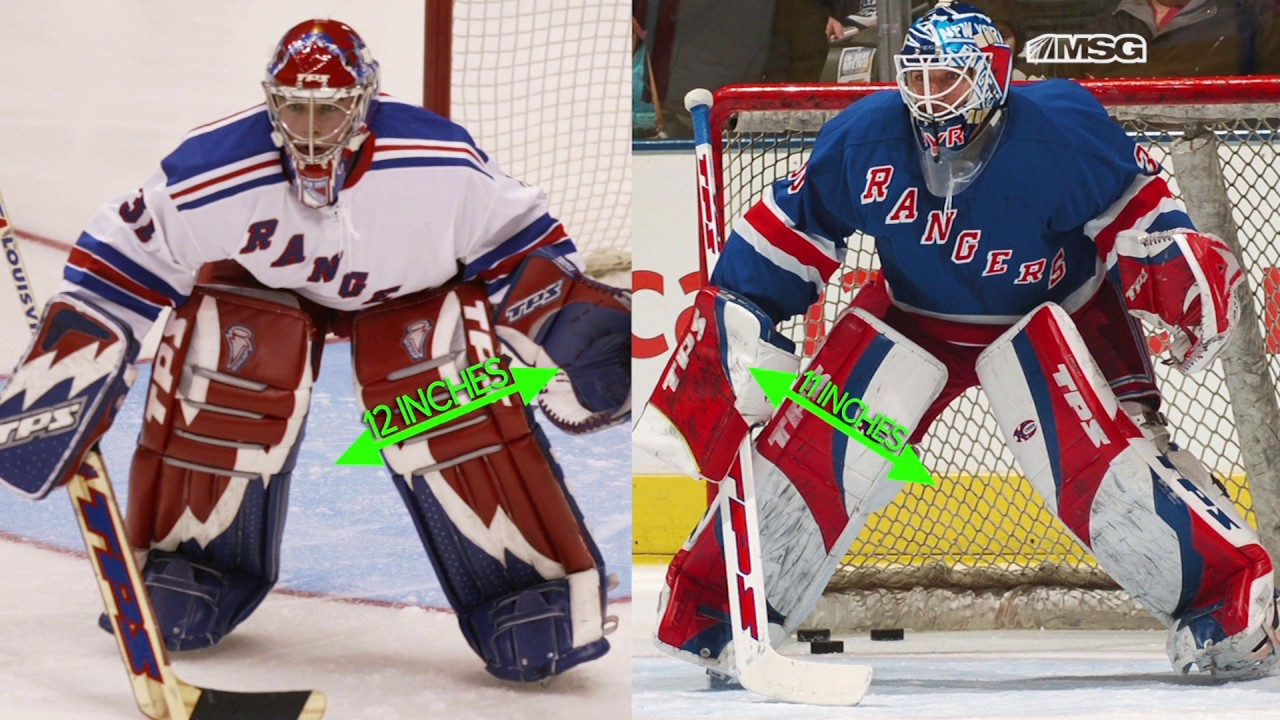 The Case For Shrinking Nhl Goalie Pads Vally S View Youtube