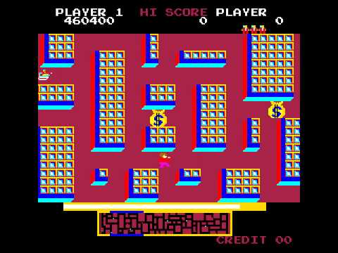 Arcade Game: Wall Street (1982 Century Electronics)