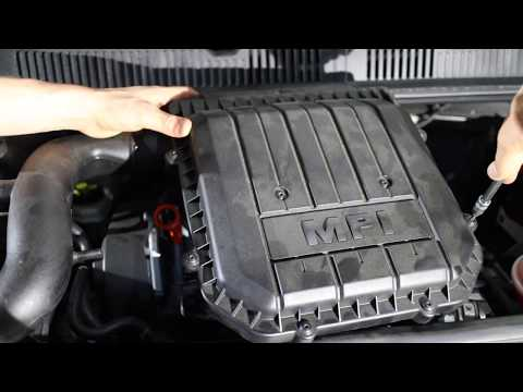 Volkswagen VW Up! Air Filter How To Replace MPI 55 75 CHYA CHYB