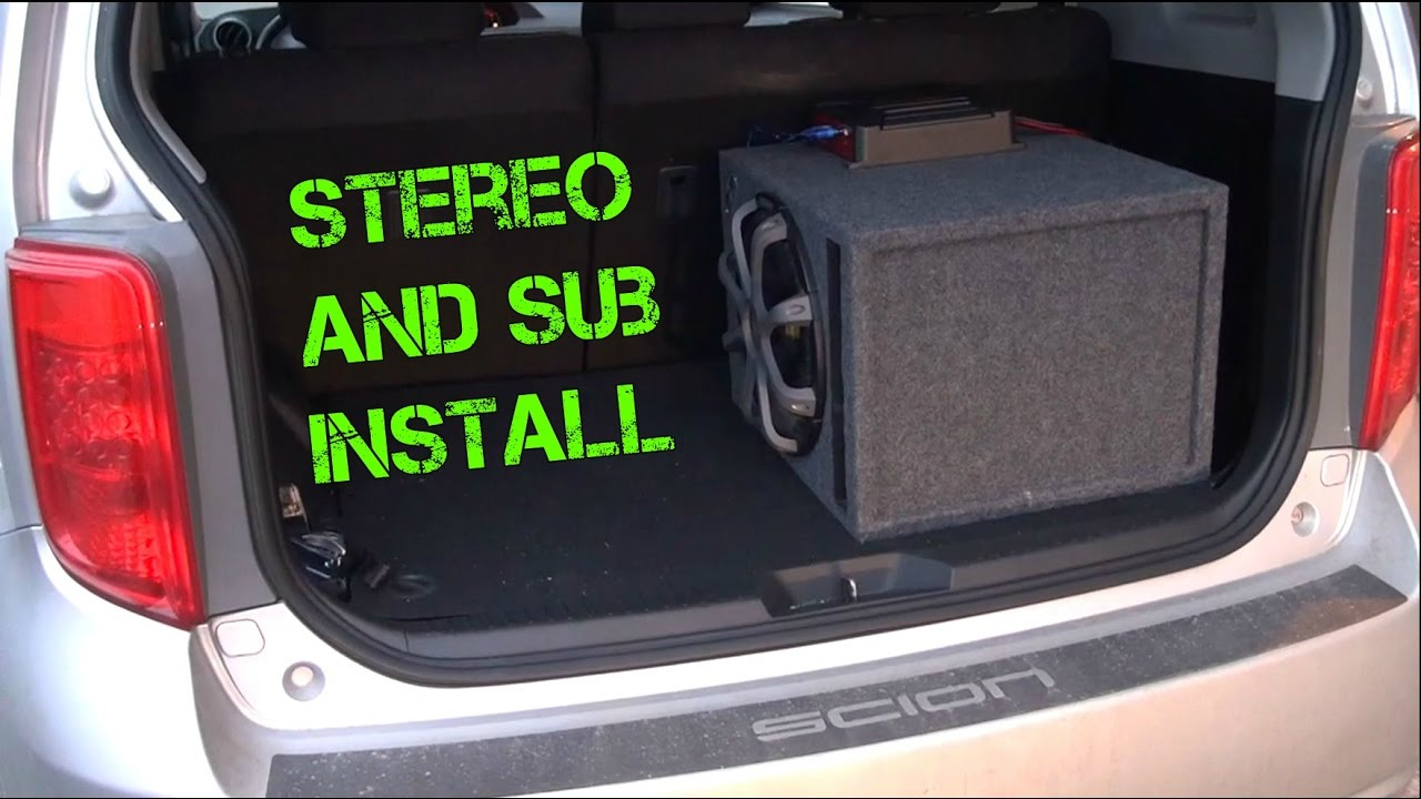maxresdefault 2008 scion xb build 3 (stereo and subwoofer install) youtube Scion XD Interior Lights at bakdesigns.co