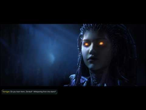 Starcraft 2 wings of liberty walkthrough HD part 14   Whispers of doom  PC PS3 xBox one
