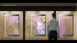 NEXNOVO XT transparent LED poster digital poster
