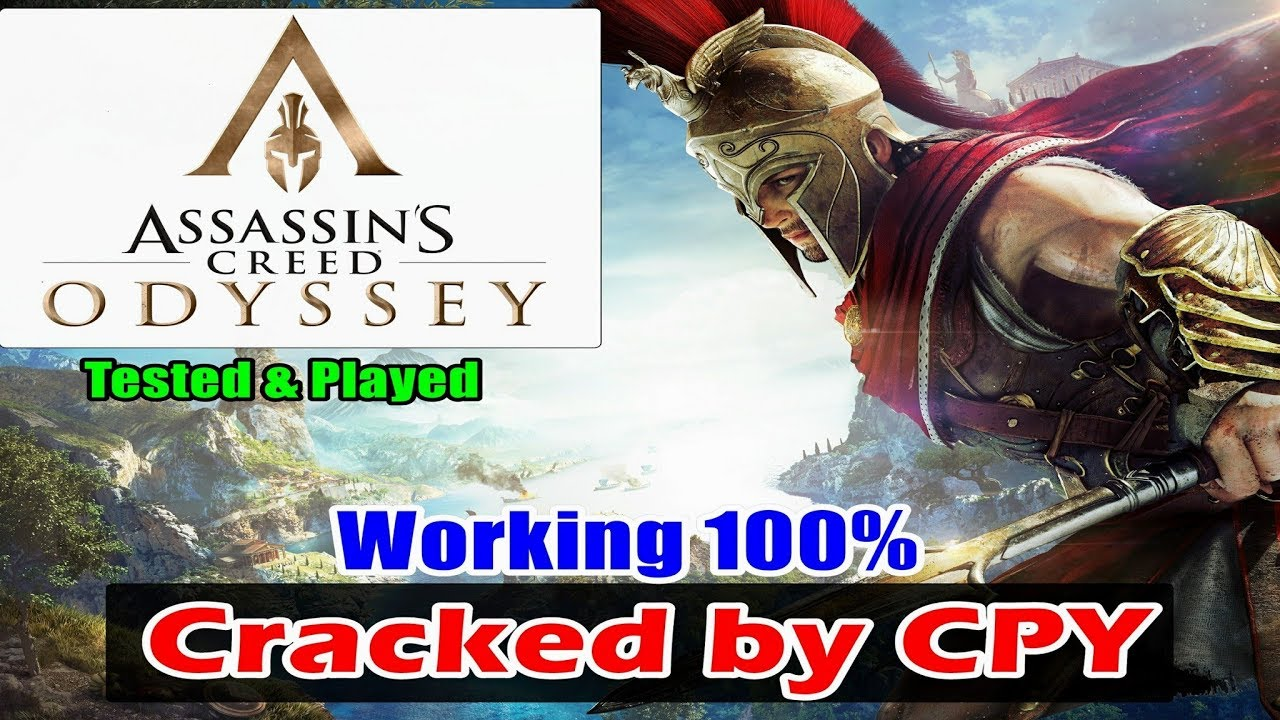 Assassin's Creed Odyssey Cracked BY CPY - CPY Crack Working 100% - Tested &  Played