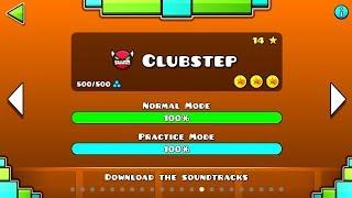 ClubStep Geometry Dash Por fin acabe los demon del modo Historia HD