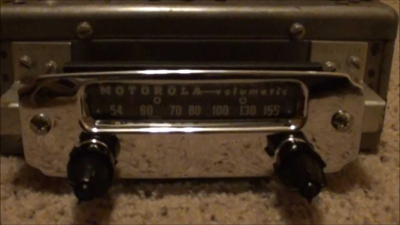 Vintage Motorola Big M Radio - 5M-12 by MOTOROLA - RARE ...