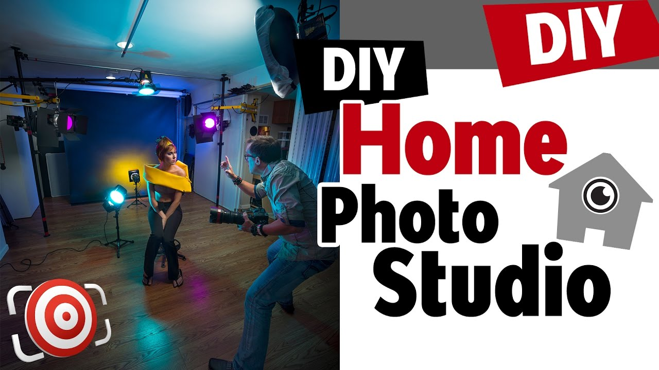 Home Photography Studio Setup Tips For Building A Diy Home Portrait Studio On A Budget Youtube