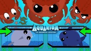 Mope.io KING CRAB AQUARIUM TRAP TROLL! NEW TROLLING TRAPPING OCEAN ANIMALS Mope IO (Mopeio Gameplay)