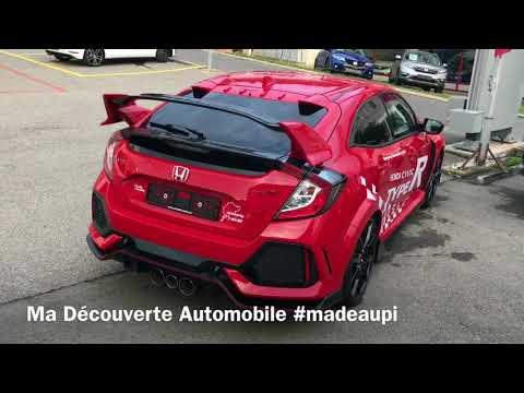 New Honda Civic Type R 320ch Découverte En Suisse