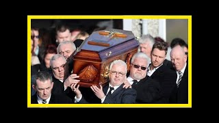Cranberries singer Dolores O'Riordan mourned by hundreds at the funeral