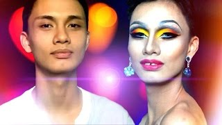 Male To Shemale • GLAMAZON DRAG | Makeup Transformation