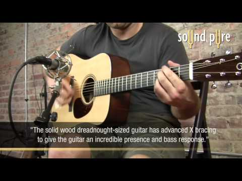 Santa Cruz DPW/M Acoustic Guitar Demo at Sound Pure