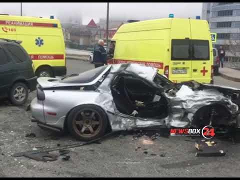 Аварию с погибшим учинил водитель Мазды во Владивостоке