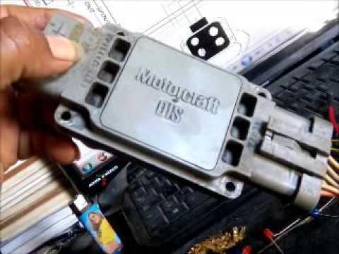 83 Mustang Engine Wiring Harness 0040 Como Checo El Modulo Dis De Mi Ranger 4 Cil De 8