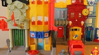 imaginext rescue city center play set