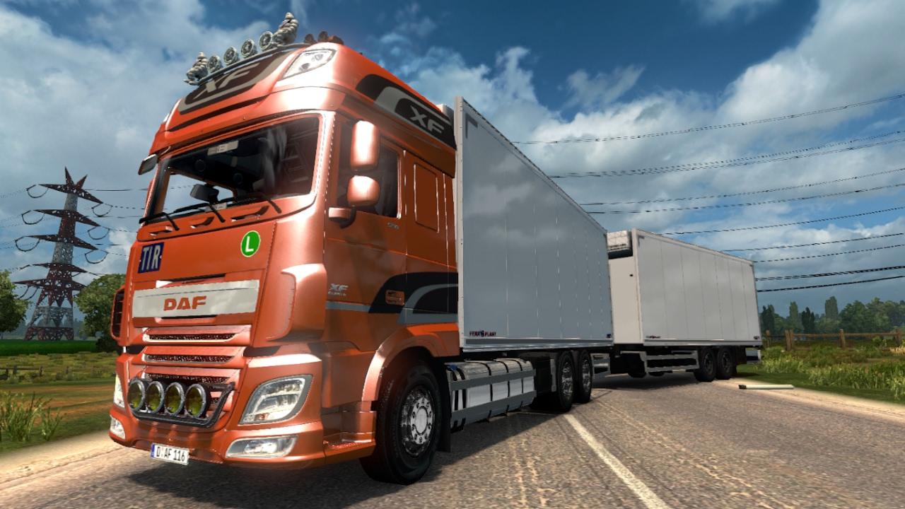 V8 illegal reworked truck v5 0 simulator games mods download - Daf Xf 116 Mega Mod 1 26 Ets2 Euro Truck Simulator 2 Free Download