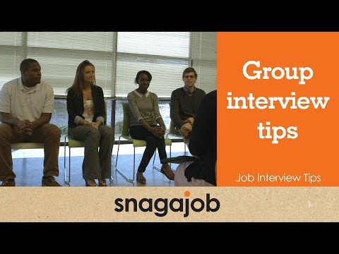 Job Interview Tips (Part 4): Group Interview Tips