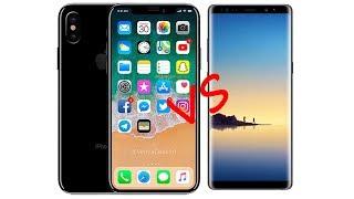 So sánh iPhone X vs Galaxy Note8: Ai là ông hoàng???
