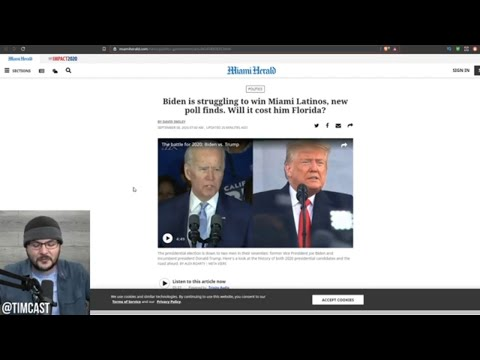 Trump Is Winning In Florida As Hispanics Favor Him Over Biden And Media PANICS from YouTube · Duration:  11 minutes 13 seconds