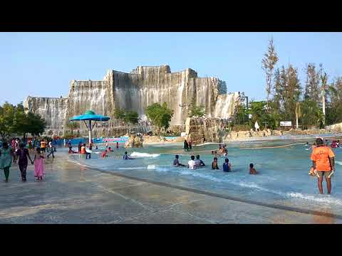 Beautiful Niagara Falls and Water Waves in Queensland Chennai ||SUBSCRIBE||SHARE||LIKE