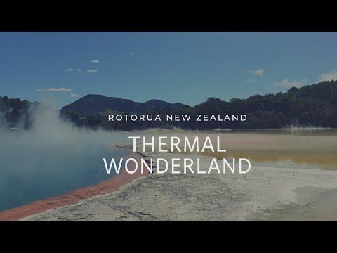 New Zealand's Most Beautiful Geothermal Park Wai-O-Tapu Thermal Wonderland