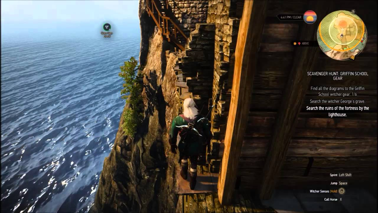witcher 3 lornruk how to get in