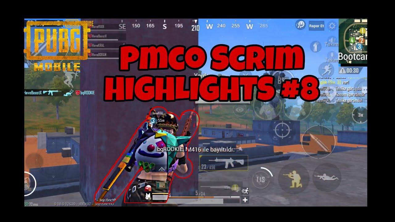BeastX Pmco Scrim HIGHLIGHTS #8 | PUBG MOBILE