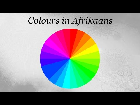 Colours in Afrikaans
