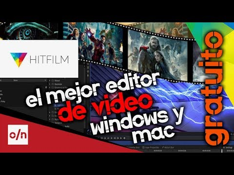 El mejor editor de videos para pc y mac gratuito. Hitfilm tutorial de instalacion.