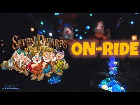 Seven Dwarfs Mine Train On-ride Front Seat (HD POV) Magic Kingdom WDW