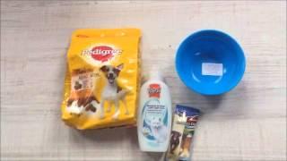 Покупки зоотоваров для  собаки , кота.(Это первое мое видео., 2016-04-15T18:25:10.000Z)