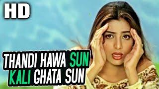 Thandi Hawa Sun Kali Ghata Sun | Alka Yagnik | Pehla Pehla Pyar 1994 Songs | Tabu