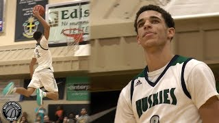 Lonzo Ball & Brothers WIN City of Palms Classic! High School Highlights - Los Angeles Lakers PG