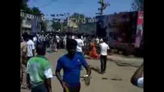 thalaiva  movie  firsht  day  showin  pudukkottai  vijay  fan