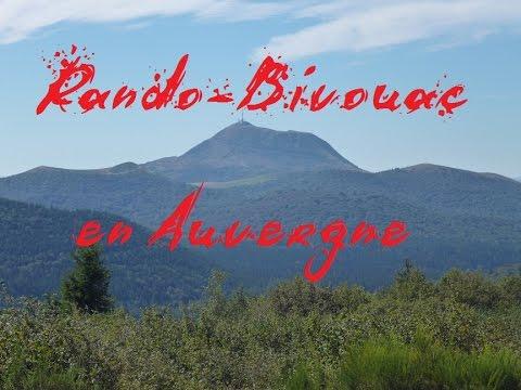 Randovouac Volcanique en Auvergne