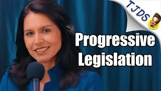 Tulsi Gabbard Reveals Amazing Progressive Legislative Agenda Tulsi Gabbard Reveals Amazing Progressive Legisialtive Agenda Here's How You Can Support Our Show & Independent Media!  ? Become a PATRON ..., From YouTubeVideos