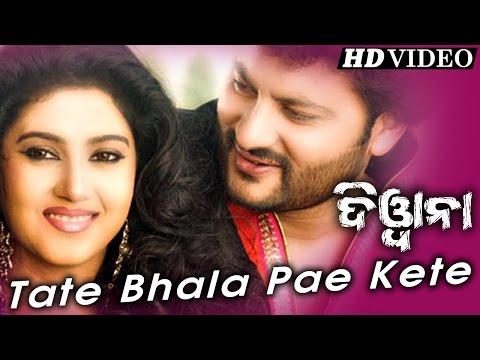 TATE BHALA PAE KETE | Romantic Film Song I DEEWANA I Anubhab & Barsha