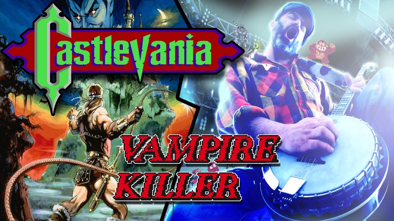 Castlevania - Vampire Killer - 2017 Cover - @banjoguyollie