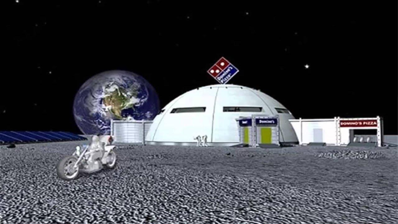 Pizza en la luna dominos pizza quiere extenderse youtube - Casa de la luna ...